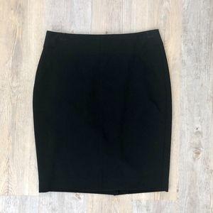 LOFT Pencil Skirt Black 6P Petite